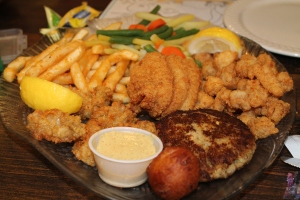 Alligator&SeafoodPlatter